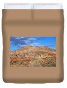 Evening Colors Of The Desert Duvet Cover
