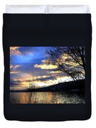 Evening Exhibition Duvet Cover