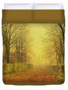 Evening Glow Duvet Cover by John Atkinson Grimshaw