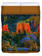 Evening In Bryce Canyon Duvet Cover
