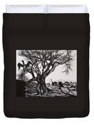 Evening In Midnapore Duvet Cover