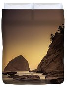 Evening In The Cove Duvet Cover