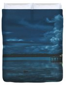 Evening In The Lagoon Duvet Cover