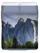 Evening In Valley Duvet Cover