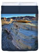 Evening In Valley Of Fire State Park Duvet Cover