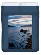 Evening On Loch Rannoch Duvet Cover