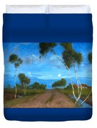 Evening On The Moor Duvet Cover