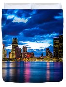Evening On The Town Duvet Cover