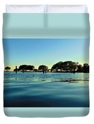 Evening On Water Duvet Cover