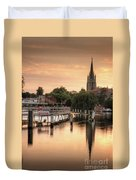 Evening Over Marlow Duvet Cover