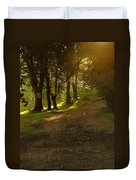 Evening Path Duvet Cover