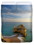Evening Rocha Rocks Duvet Cover