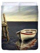 Evening Sea Duvet Cover