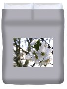 Evening Show - Cherry Blossoms Duvet Cover