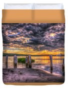 Evening Skies Duvet Cover