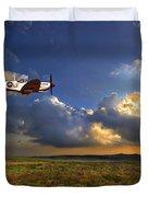Evening Spitfire Duvet Cover