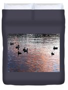Evening Swim Duvet Cover