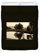 Evening Tide On The Farm Duvet Cover