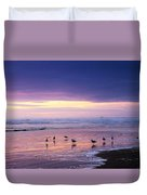 Evening Tide Reflections Duvet Cover