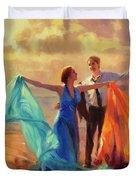 Evening Waltz Duvet Cover