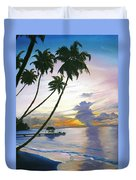 Eventide Tobago Duvet Cover by Karin  Dawn Kelshall- Best