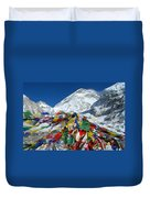 Everest Base Camp Duvet Cover
