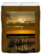 Everglades Evening Duvet Cover