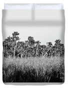 Everglades Grasses And Palm Trees 2 Duvet Cover