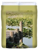 Everglades Pier Duvet Cover