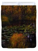 Everglades Pond Duvet Cover