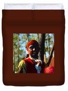 Everglades Seminole Portrait Number Three Duvet Cover