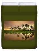 Everglades Sunrise Duvet Cover