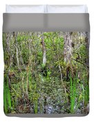 Everglades Swamp Two Duvet Cover
