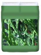 Evergreen Dew Duvet Cover