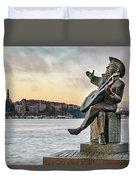 Evert Taube - Stockholm Duvet Cover