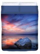 Every Stone Has A Place Duvet Cover