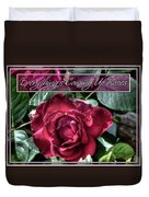 Everything's Coming Up Roses Duvet Cover