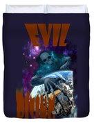 Evil Rising Duvet Cover