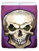 Evil Skull Duvet Cover