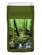 Evolution Of A Forest In Spring  Duvet Cover