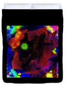 Evolution Of The Self In Chaos Duvet Cover