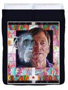 Evolution Of The Self Portrait Duvet Cover