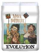 Evolution Poster Duvet Cover