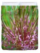 Evolving Allium Duvet Cover