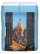 Evora's Cathedral Tower Duvet Cover