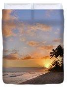 Ewa Beach Sunset 2 - Oahu Hawaii Duvet Cover