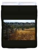 Ewing-snell Ranch 1 Duvet Cover by Larry Ricker