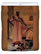 Execution Without Trial Under The Moorish Kings In Granada Duvet Cover by Henri Alexandre Georges Regnault