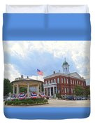 Exeter Town Hall Duvet Cover