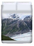 Exit Glacier Duvet Cover